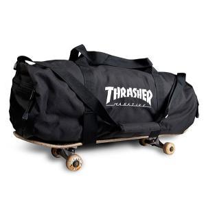 Thrasher Magazine(US企画)スケートバッグ ボストンバッグ 旅行鞄 カバン スラッ...