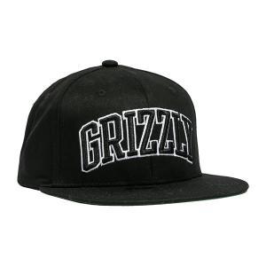 12f26470524 Grizzly Griptape(グリズリー)キャップ スナップバックハット 帽子 Top Team Snapback Black スケボー  SKATE SK8 スケートボード HIPHOP ヒップホップ