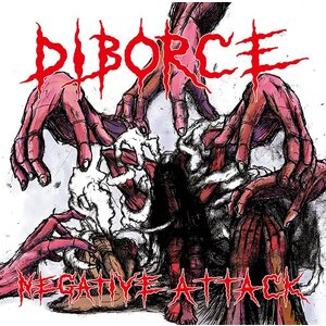 DIBORCE NEGATIVE ATTACK 1ST CD フルアルバム Bloodbath Re...