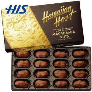 ハワイ お土産 ハワイアンホースト ゴールドクラシック マカデミアナッツチョコレート 1箱 おみやげ...