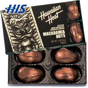 ハワイ お土産 ハワイアンホースト マカデミアナッツ チョコレート TIKI 5箱セット  おみやげ...