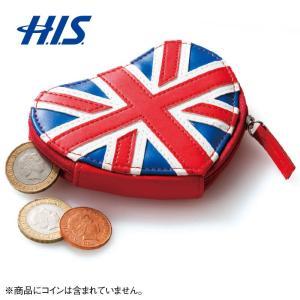 イギリス土産 ハート形 コインパース ユニオンジャック  イギリス 土産 お土産 みやげ  印象的な...