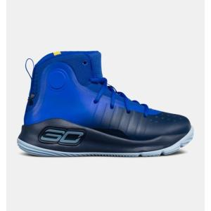 Under Armour アンダーアーマー Curry 4 Mid (PS) 1295996 カリー4 ミッド プリスクール バスケットボール シューズ 子供 キッズ 取り寄せ商品|hisawing