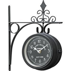 ウォールクロック CLK-101BK 壁掛け時計 掛け時計 時計 クロック インテリアクロック ヨーロピアン おしゃれ|hiseshop