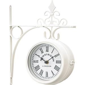 ウォールクロック CLK-101WH 壁掛け時計 掛け時計 時計 クロック インテリアクロック ヨーロピアン おしゃれ|hiseshop