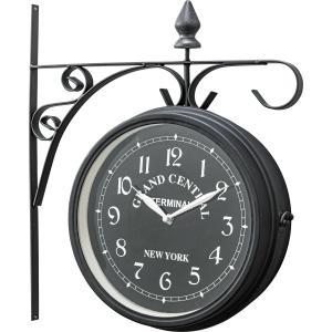 ウォールクロック CLK-102BK 壁掛け時計 掛け時計 時計 クロック インテリアクロック ヨーロピアン おしゃれ|hiseshop