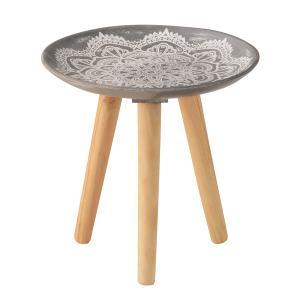トレーテーブル LFS-190A サイドテーブル ミニテーブル トレー 小物入れ 花台 フラワースタンド ソファサイド hiseshop