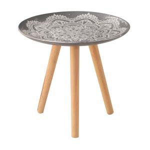 トレーテーブル LFS-191A サイドテーブル ミニテーブル トレー 小物入れ 花台 フラワースタンド ソファサイド hiseshop