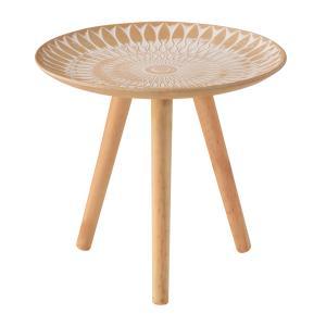 トレーテーブル LFS-191B サイドテーブル ミニテーブル トレー 小物入れ 花台 フラワースタンド ソファサイド hiseshop