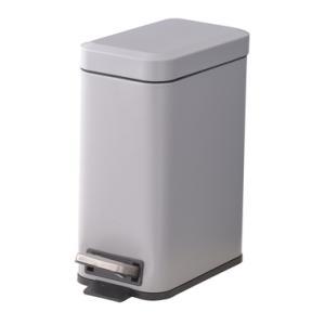 ゴミ箱 LFS-232GY ごみ箱 くず入れ ダストボックス トラッシュカン 5L 蓋付き ペダル式 キッチン ポリプロピレン hiseshop