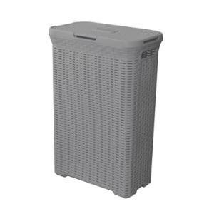 ランドリーボックス LFS-235GY ランドリー ボックス ランドリーバスケット 洗濯カゴ 洗濯物入れ 収納 蓋付き hiseshop