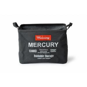 マーキュリー キャンバス レクタングルボックス M ブラック MERCURY アメリカン 雑貨 インテリア 収納 hiseshop