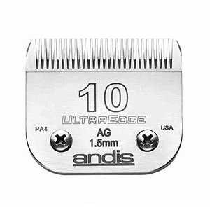 Andis Carbon-infused Steel Ultraedge Dog Clipper Blade Size-10 1/16-inch Cu|hiseshop