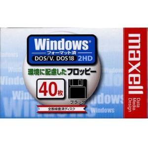 maxell 3.5インチFD WINDOWS 40枚 [MFHD18D40K]|hiseshop