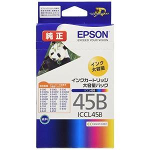 エプソン 純正 インクカートリッジ パンダ ICCL45B カラー4色一体型 大容量|hiseshop