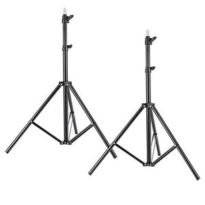 Neewer 2点 ライトスタンド 190cm アルミ合金製 3段階調整 撮影用スタンド 写真/ビデオ三脚ライトスタンド 折りたたみ式 レフ板、ソフト|hiseshop