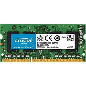 Crucial [Micron製] DDR3L ノート用メモリー 8GB ( 1600MT/s / PC3-12800 / CL11 / 204pin|hiseshop