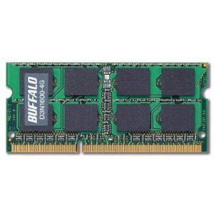 BUFFALO PC3-12800 204Pin DDR3 SDRAM S.O.DIMM 4GB D3N1600-4G|hiseshop