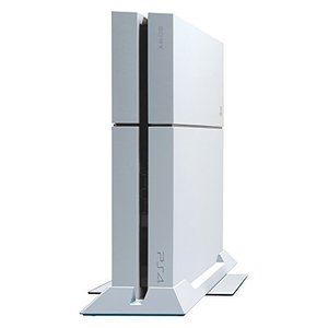 倒れにくい縦置きスタンド for PlayStation 4 ホワイト|hiseshop