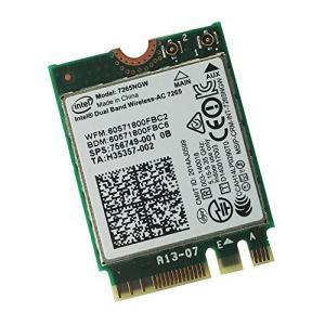 Intel Wireless-AC 7265 7265NGW 7265AC 867Mbps 2X2 NGFF Pcie Bluetooth WLANカ|hiseshop