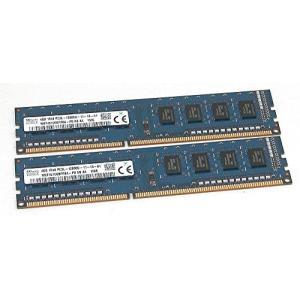 2?x 4?GB (8gb合計) SK Hynix hmt451u6bfr8?a-pb pc3l-12800u 1rx8デスクトップメモリ|hiseshop