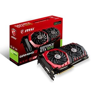 MSI GeForce GTX 1070 GAMING X 8G 『Twin Frozr VI/OCモデル』 グラフィックスボード VD6072|hiseshop
