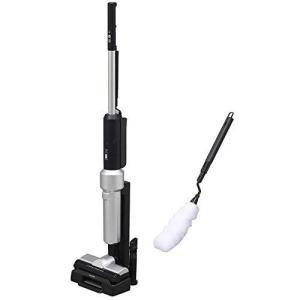 アイリスオーヤマ 掃除機 コードレス ハンディ スティッククリーナー 極細軽量 紙パック 静電モップ・スタンド付 ほこり感知センサー搭載 軽量1.4k hiseshop
