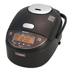 象印 炊飯器 5.5合 圧力IH式 極め炊き 黒まる厚釜 保温30時間 早炊き28分 ダークブラウン NP-ZT10-TD hiseshop