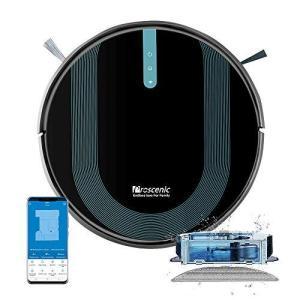 Proscenic 850T ロボットクリーナー ロボット掃除機 3000Pa 強力吸引 水拭き アプリ制御/Alexa対応 自動充電 静音設計 hiseshop