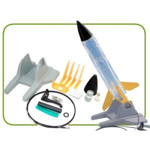 ペットボトルロケット組み立てキット(自由研究、夏休みの工作、実験)