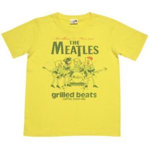 CAPITAL RADIO ONE(キャピタルレディオワン)/ミートルズ (yellow) Tシャツ|hisoft-cream