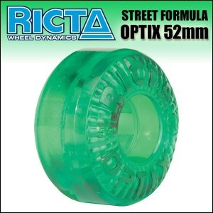 RICTA WHEEL(リクタ)/OPTIX (101A) CLEAR GREEN 52mm ウィール