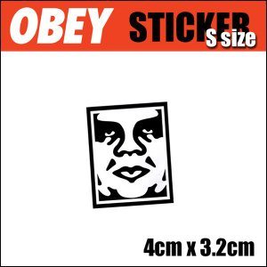 OBEY/ICON FACE STICKER (Sサイズ) ステッカー