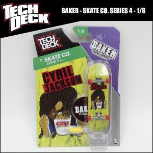 TECH DECK テックデッキ BAKER - TD SKATECO. SERIES 4 (1/8) #20073115