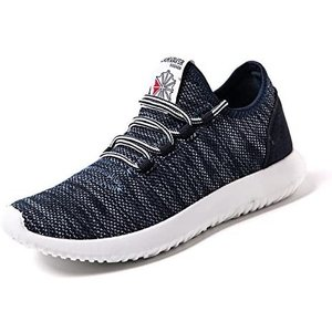 [Make 2 Be] メンズ アッパーニット スニーカー フィット 軽量 靴 シューズ 通気性 ランニング ジョギングの画像