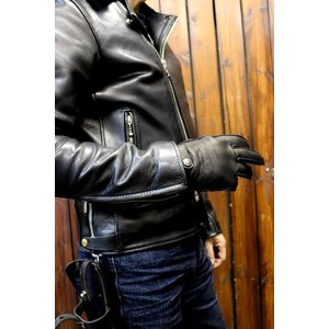 ● K'S LEATHER ● NKG-ディア ● No.3336 ● 表/ ディアスキン(鹿) ●...