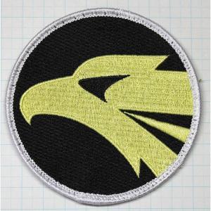 航空自衛隊グッズ  小松基地306飛行隊 F−15 イヌワシ丸形ワッペン・パッチ|hisyo