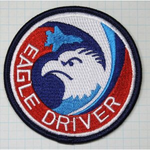 航空自衛隊グッズ  那覇基地 204・304飛行隊 EAGLE DRIVERワッペン・パッチ hisyo