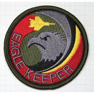 航空自衛隊グッズ  那覇基地 204飛行隊 EAGLEKEEPERロービジワッペン・パッチ hisyo