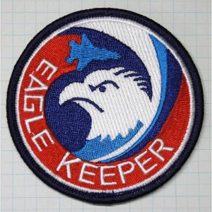 航空自衛隊グッズ  那覇基地 204・304飛行隊 EAGLEKEEPERワッペン・パッチ hisyo