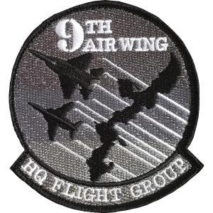 航空自衛隊グッズ  9th Air Wing HQ ワッペン・パッチ hisyo