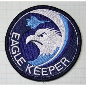航空自衛隊グッズ  那覇基地 304飛行隊 EAGLEKEEPERブルーワッペン・パッチ hisyo