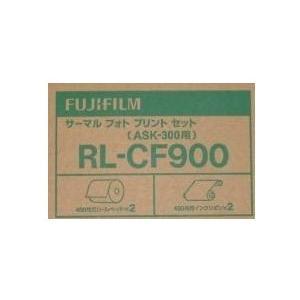 【送料無料】FUJIFILM・フジフィルム サーマルフォトプリントセット(ペーパー+インクリボン各2ロールのセット)Lサイズ用900枚 T RL-CF900