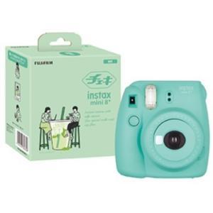 【送料無料】FUJIFILM フジフイルム インスタントカメラ チェキmini8 プラス ミント INS MINI 8P MINT instax mini 8+ ナチュラル