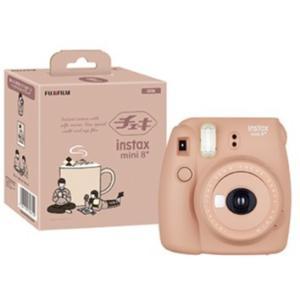 【送料無料】フジフイルム インスタントカメラ チェキmini8 プラス ココア INS MINI 8P COCOA instax mini 8+ チェキ8 ナチュラル