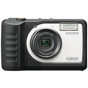【送料無料】RICOH・リコー 防水・防塵・耐衝撃デジタルカメラ G800 工事現場 現場用 現場監督 工事用などに【***特別価格***】|hit-market