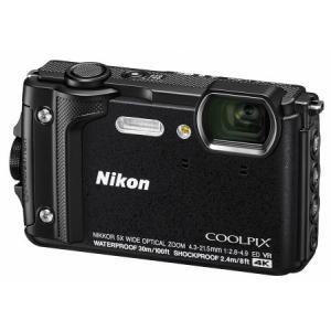 【送料無料】Nicon・ニコン GPS搭載 水深30M防水デジカメ COOLPIX W300 ブラック