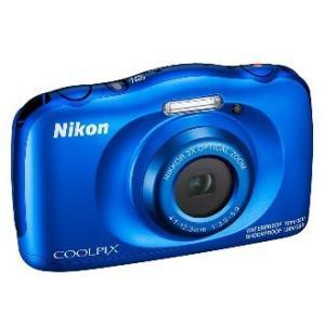 【送料無料】ニコン Nikon 防水 耐衝撃デジカメ クールピクス COOLPIX W150 ブルー...