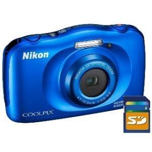 今ならSDHCカード8GB差し上げます【送料無料】ニコン Nikon 防水 耐衝撃デジカメ クールピ...