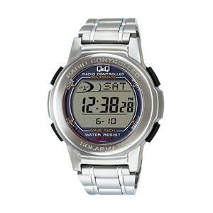 【送料無料】電波ソーラー腕時計 シチズン時計 Q&Q 電波ソーラー あかり発電 MHS5-200|hit-market